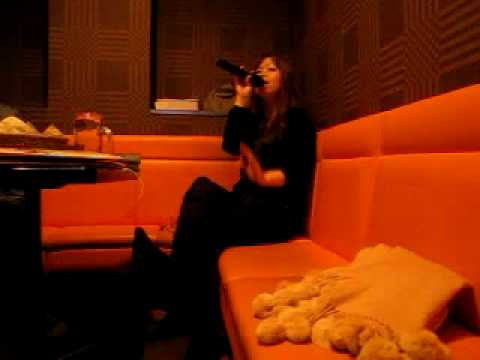 me singing CANDY BLING by Mariah Carey karaoke