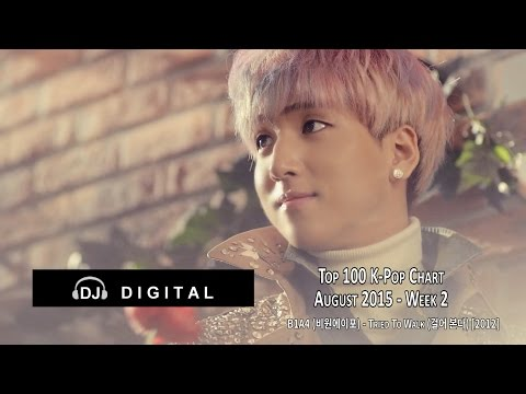Top 100 K-Pop Songs Chart - August 2015 Week 2
