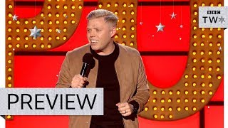 Rob Beckett's Christmas with the in-laws - Live at the Apollo: Episode 3 Preview - BBC Two