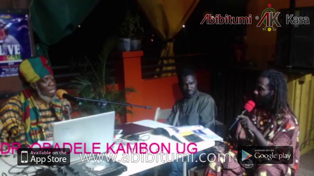 "[Clear Audio] Mutabaruka Interviews Dr. Ọbádélé Kambon on ""400 years"" and Year of Retu"