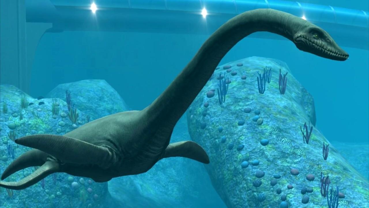морской динозавр картинка ныне сгинувшем под