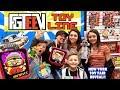 FGTEEV TOYS!! Granny's House & Baldis Basics Huge Reveal (FUNnel Fam New York Toy Fair Vlog)