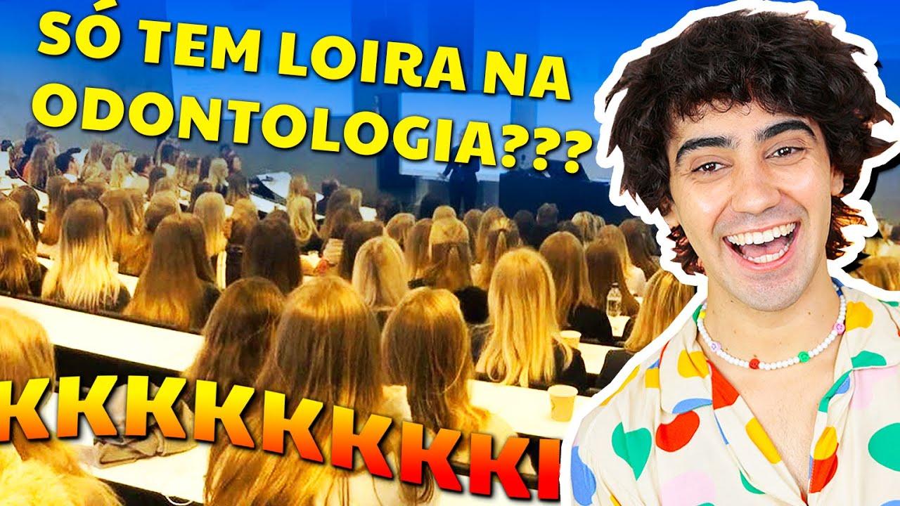 AS LOIRAS ODONTO FORAM LONGE DEMAIS! (parem os estudantes de odontologia!!!)
