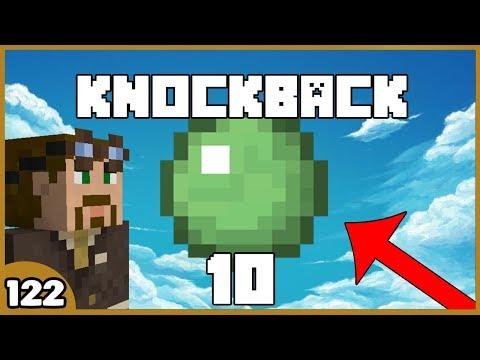 KNOCKBACK 10 SLIMEBALL! // Dansk Minecraft - Skywars // Ep122