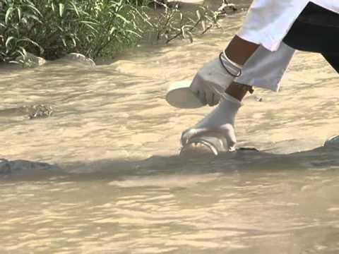 Muestreo del agua dia del rio 2012 youtube for Accesorios para estanques de agua