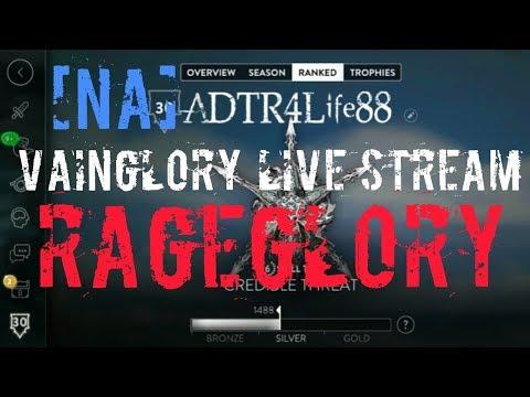 [NA] RageGlory Live Stream | Rank Tier 6 Live Music & Commentary