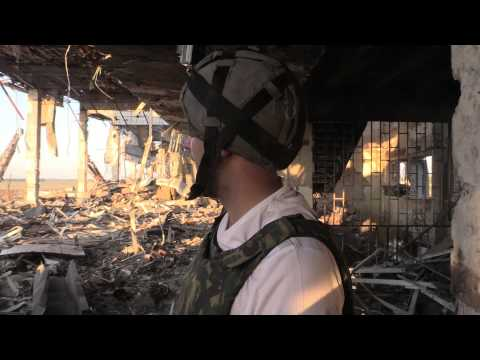 Donbass 2015 - Wrecked Donetsk Airport Old Terminal