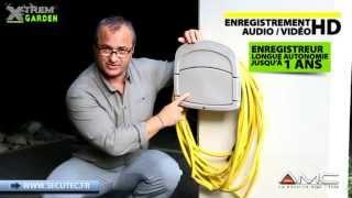 ENROULEUR DE TUYAU CAMERA ESPION LONGUE AUTONOMIE [SECUTEC.FR]