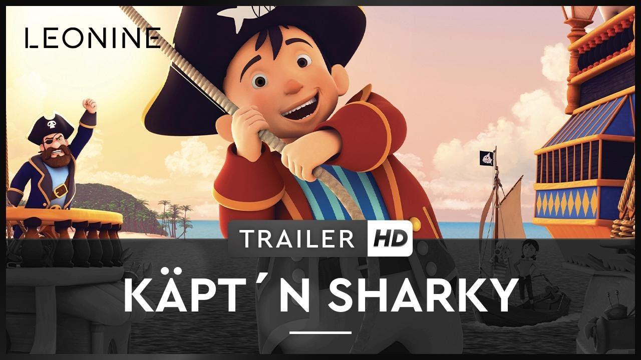 Der Freundlichste Pirat Auf Hoher See Captn Sharky