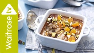 Chai Latte Rice Pudding | Waitrose