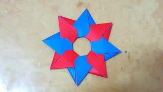 종이접기 (별) Star Origami  색종이접기  折纸  оригами  摺紙  折り紙  اوريغامي