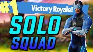 SOLO SQUAD! (Türkçe Fortnite)