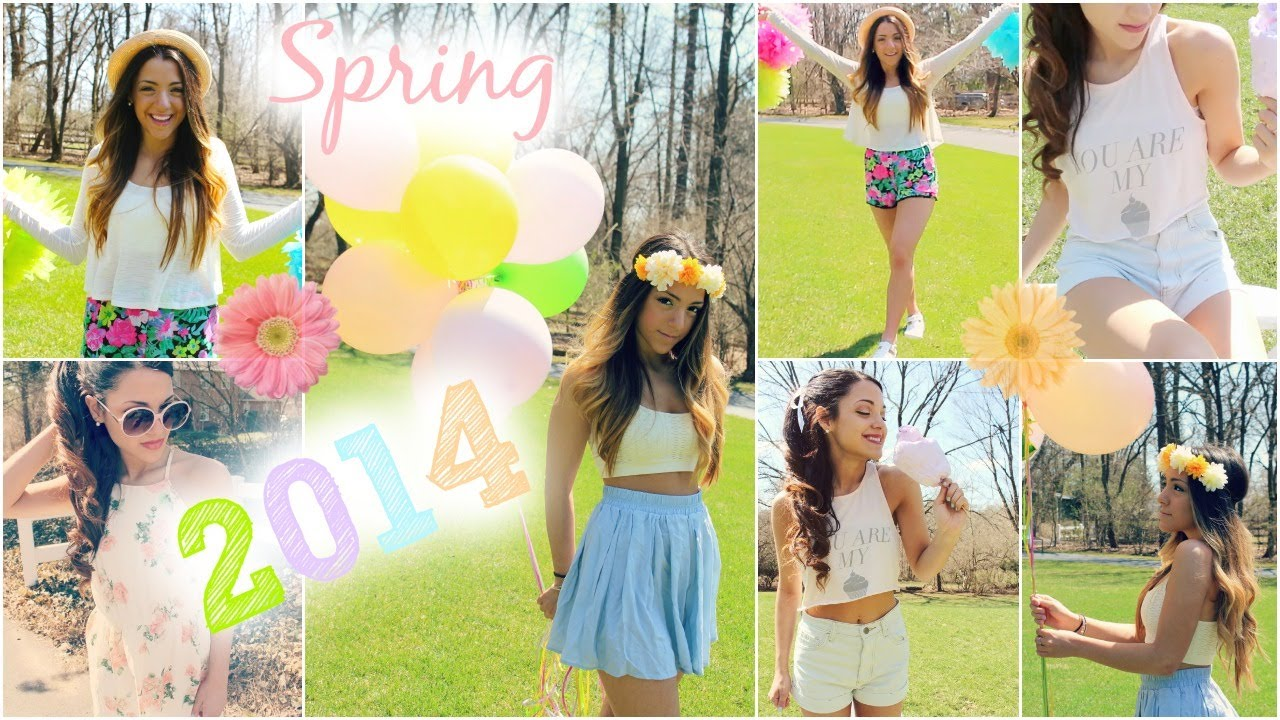 Spring 2014 trends outfit inspiration with niki and gabi youtube