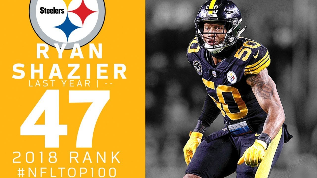 newest 1c2ff fc685 #47: Ryan Shazier (LB, Steelers) | Top 100 Players of 2018 | NFL