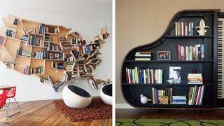 130 Bookshelf Ideas to Organize Your Book — Home library design 5