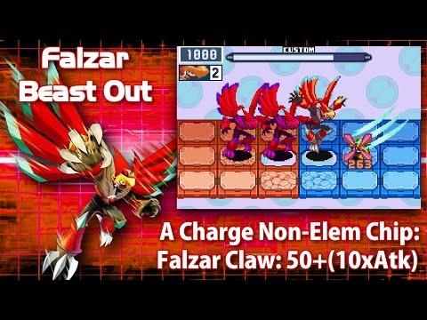 Mega Man Battle Network 6: Falzar Crosses & Beasts in 3 Minutes