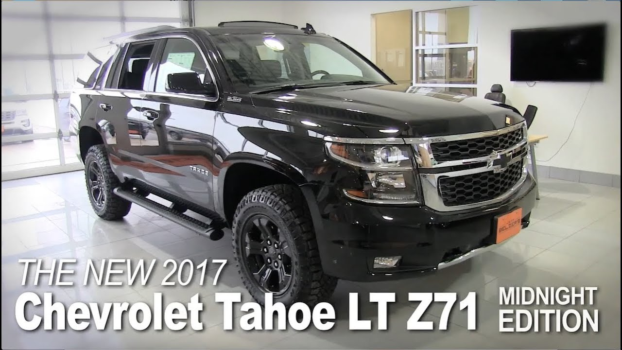 New 2017 Chevrolet Tahoe Ltz Z71 Midnight Lakeville Prague Bloomington Mpls St Paul Mn