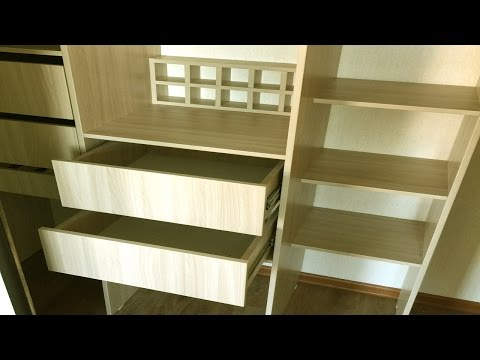 металлические модули для гардеробной комнаты