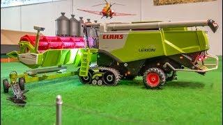 BIG RC tractor farming Action!