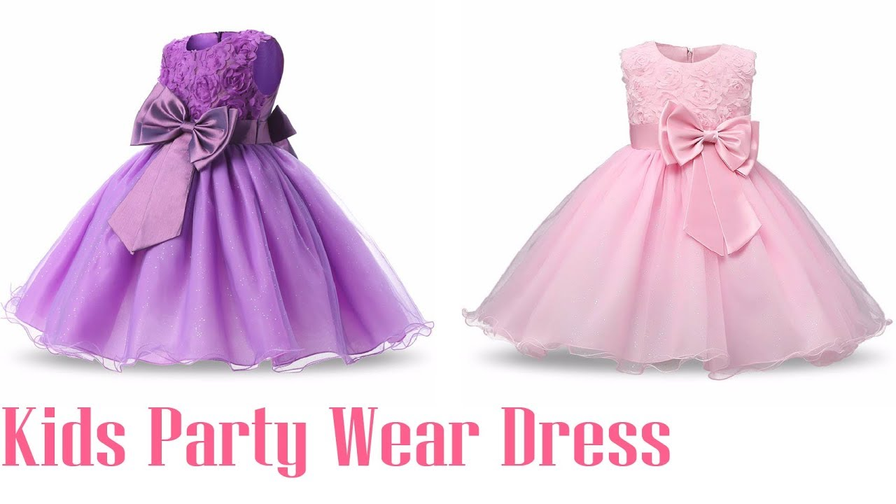 Birthday Party Little Dress Baby Girl ! Kids Party Wear Dress ...