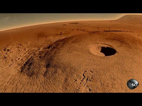 Inside Monster Martian Volcanoes