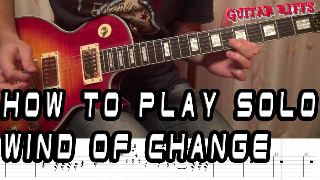 SCORPIONS chords | E-Chords.com