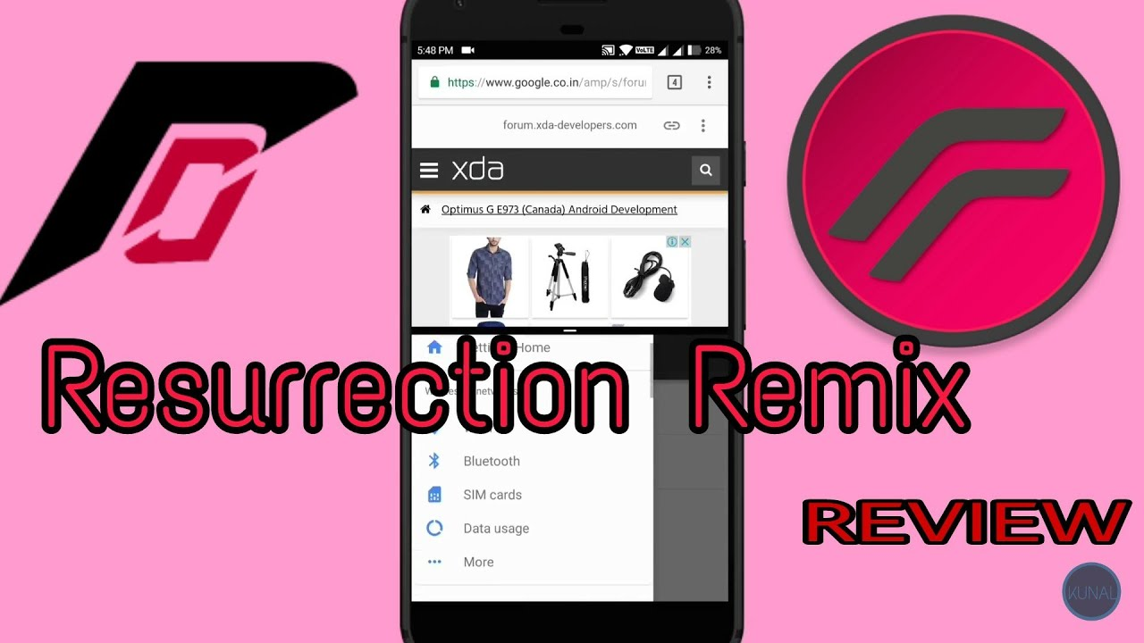 Resurrection Remix[Android 7 1 2] For LENOVO VIBE K5 PLUS Or Your Device