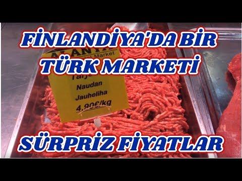 Finlandiya'da Türk Marketine Gidiyoruz - Sürpriz Fiyatlar - Finlandiya'da Yaşam