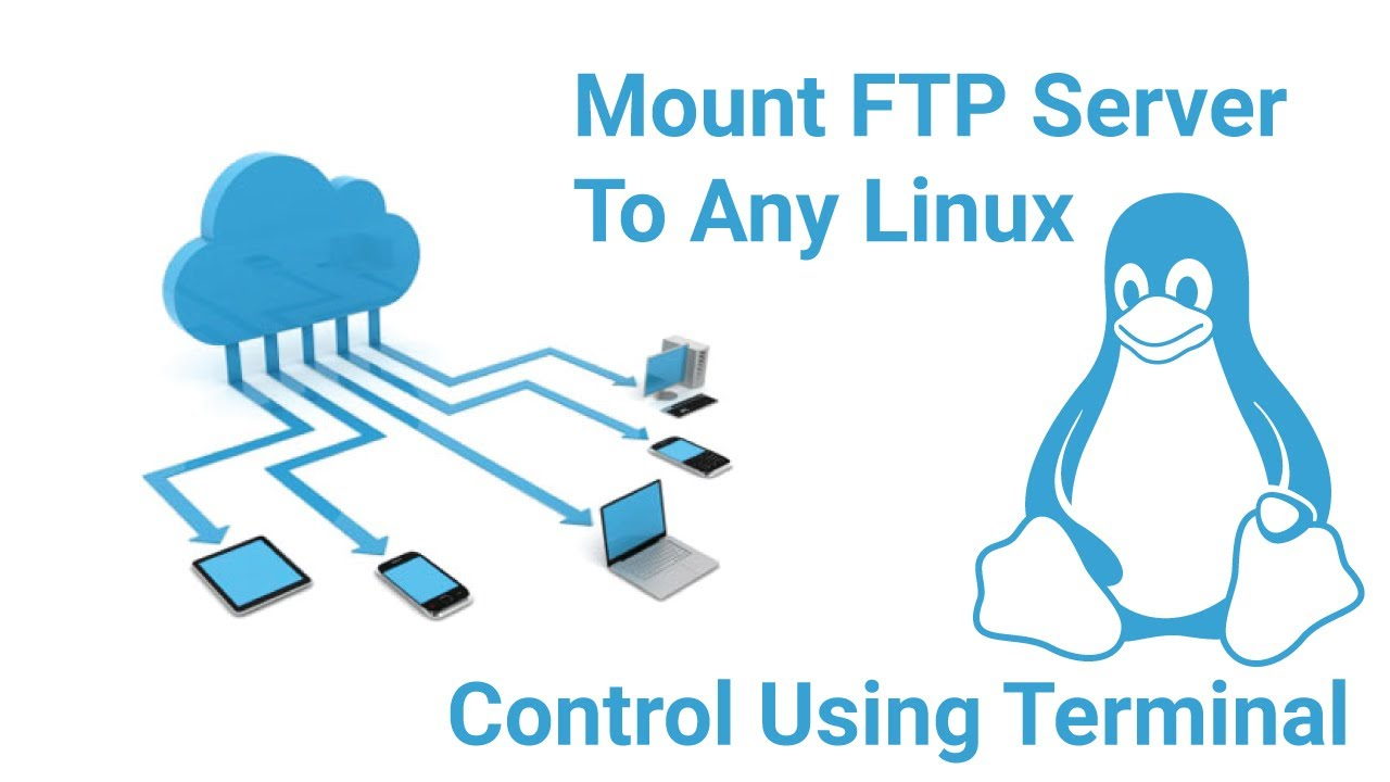 Mount FTP Server Into A Folder & Use Terminal In Linux Using CURLFTPFS |  Hindi