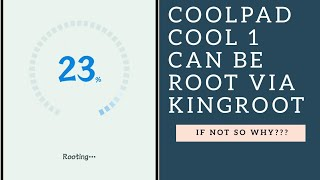 How To Root Coolpad Cool1