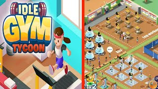 Idle Fitness Gym Tycoon! MAX LEVEL All Gyms Unlocked & Unlimited Cash