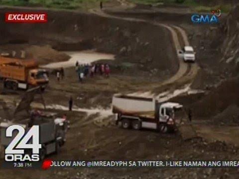 Illegal quarry site na mahigit 10 taon na ang operasyon, ni-raid; anim, arestado