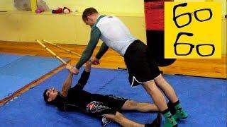 Тренировка бойцов филиппинских боевых искусств — кроссфит для работы с палкой от Алексея Минигалина