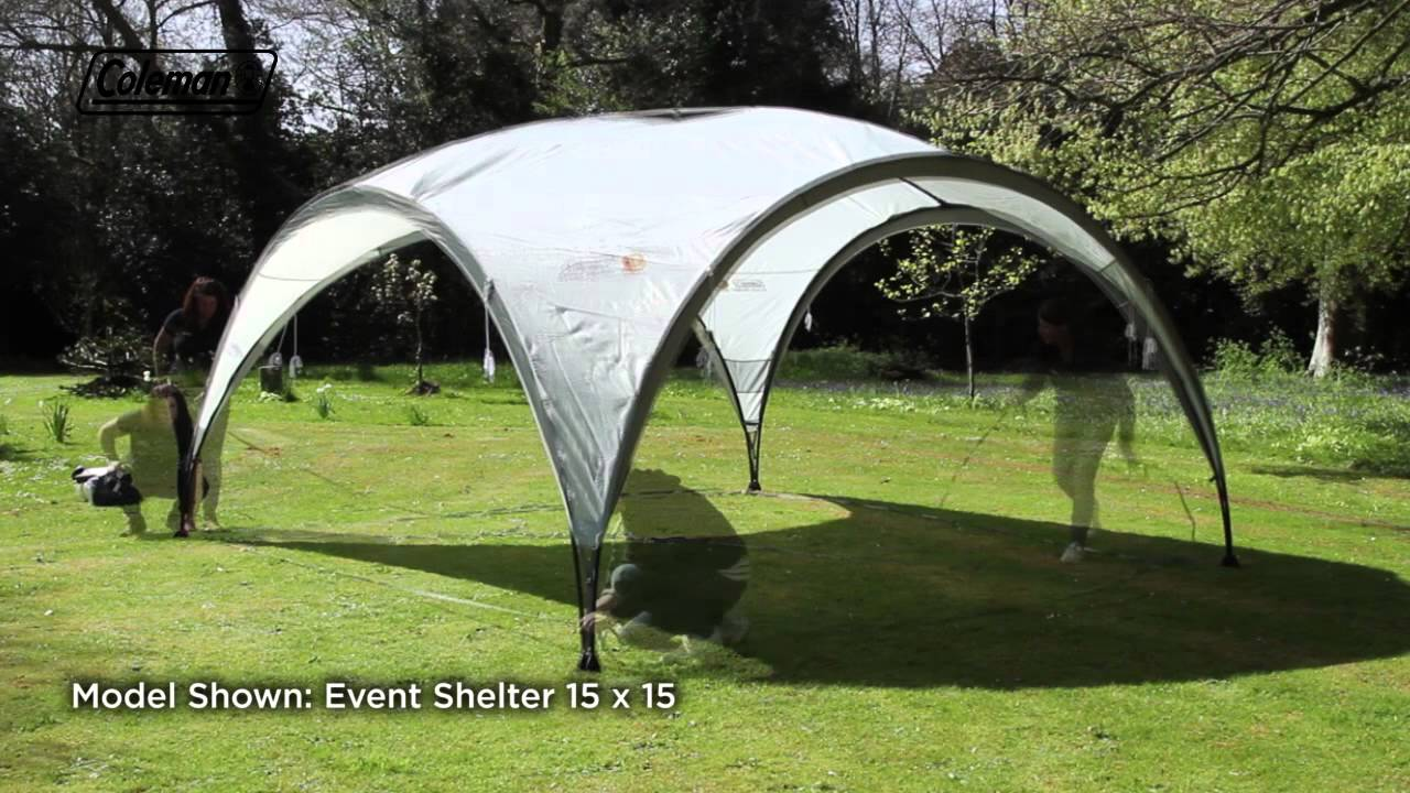 Coleman® Event Shelter 12x12   The Ideal Shelter For The Garden And  Campground