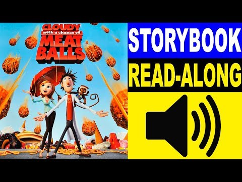 Cloudy with a Chance of Meatballs Read Along Story book, Read Aloud Story Books, Books Stories