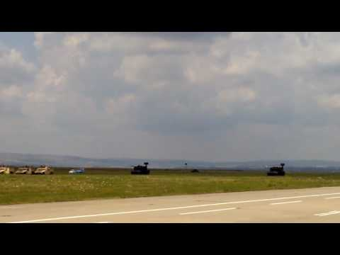 Fighter planes - demonstration Turda 2016 Romanian air force