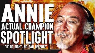 Annie ACTUAL Champion Spotlight