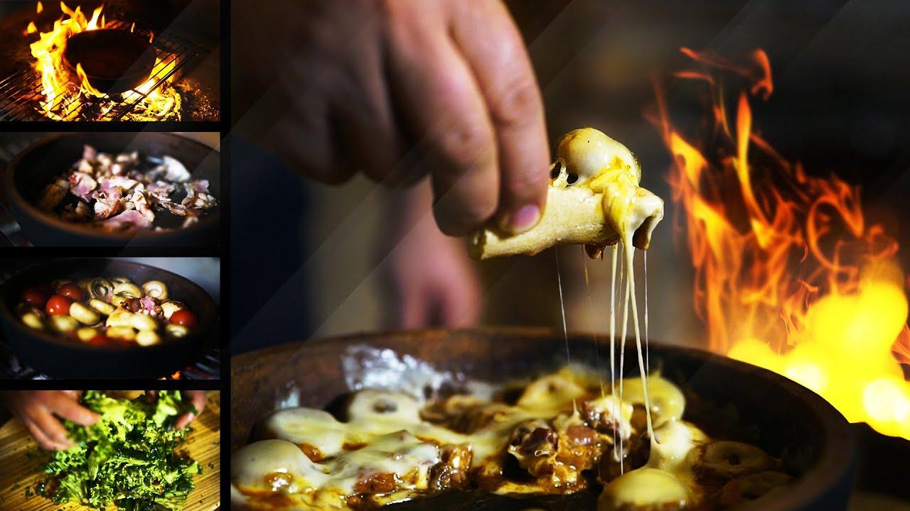 Mushrooms with Garso recipe. გარსოს საფირმო.