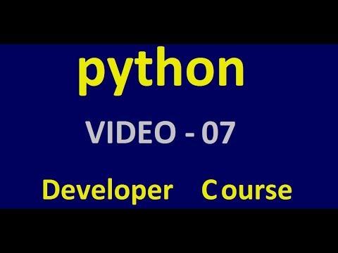 Python - Python variables - Tutorial 1 - Video 7 thumbnail
