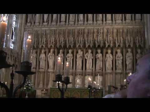 Organ in the Chapel. Graduation Ceremony. 2009-10-02, New College, Oxford