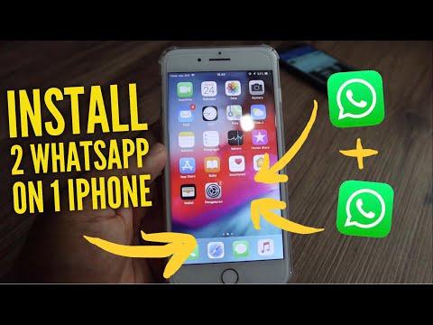 How To Install 2 Whatsapp On IPhone 2020 (Free, Full & No Jailbreak)