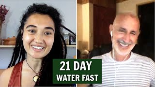21 Day Water Fast with Loren Lockman / Fasting Benefits / Healing