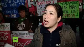 Convocan la huelga general contra la gestión de Mauricio Macri