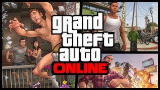 Perseguido! - GTA V Modo Online [+16]
