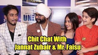 Chit Chat With Jannat Zubair & Mr. Faisu | Tere Bin Kive Music Success