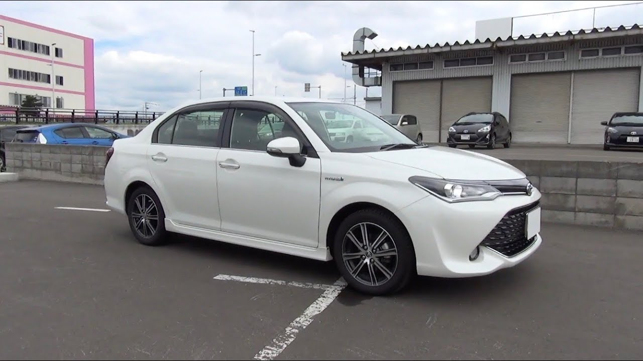 2017 Toyota Corolla Axio Hybrid Quot W 215 B Quot Exterior