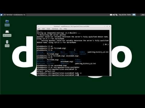 Install Django on Apache with mod_wsgi on Linux