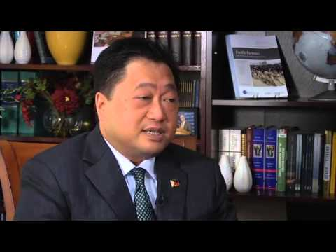 Video Interview Ernest Bower Interviews Cesar V  Purisima