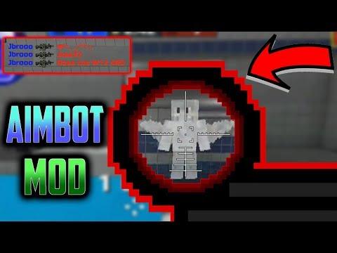 PG3D AIMBOT!!? - Pixel Gun 3D Range Aimbot Mod