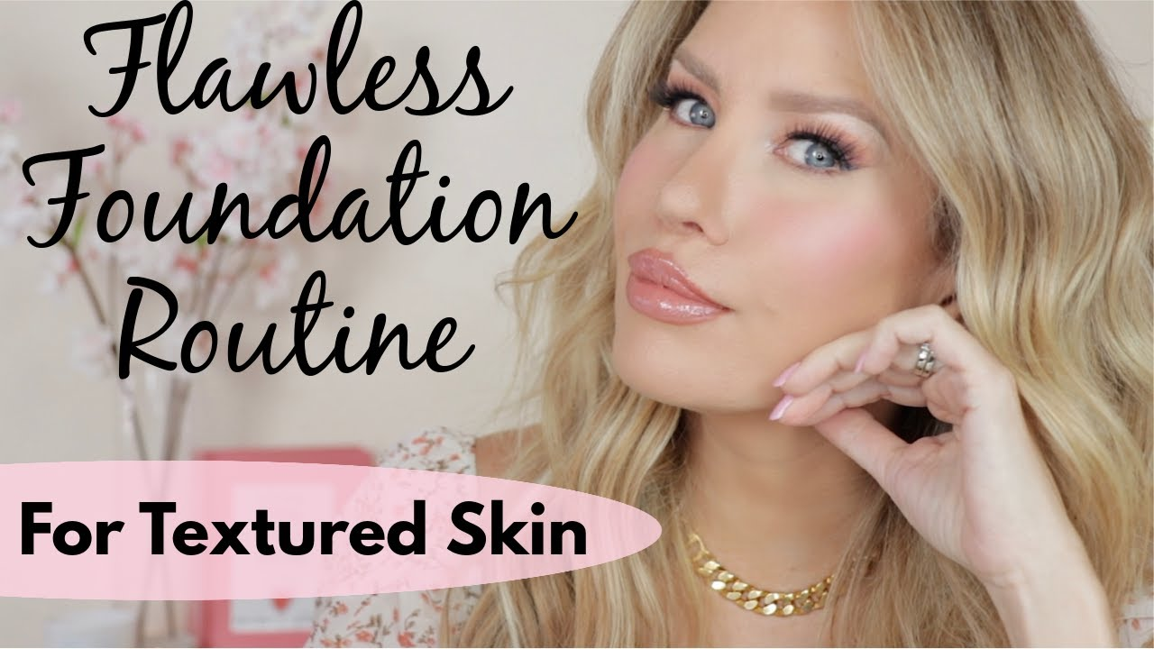 HOW TO GET SMOOTH, FLAWLESS FOUNDATION ON TEXTURED SKIN | My Current Mask-Proof Routine!